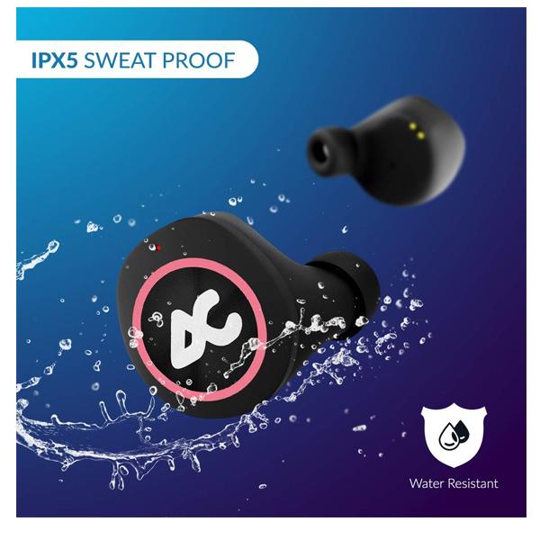 Auxtron AirBolt 505 True Wireless (TWS) Earbuds - Pink + Black