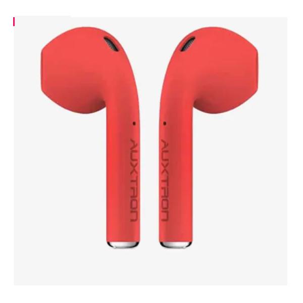 Auxtron AirBolt 501 True Wireless (TWS) Earbuds -Red