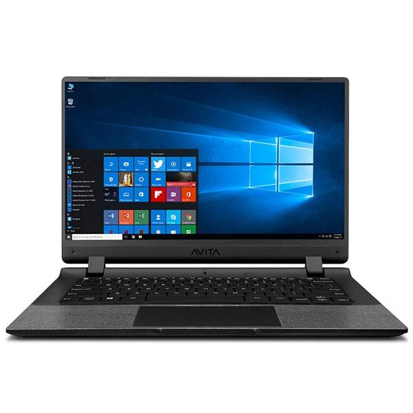 Avita Essential 14 (NE14A2INC43A-MB) Laptop (Intel Celeron-N4020/ 4GB RAM/ 128GB SSD/ Windows 10 Home/ Integrated Graphics/ 14-inch Screen/ 2 Years Warranty),Matt Black