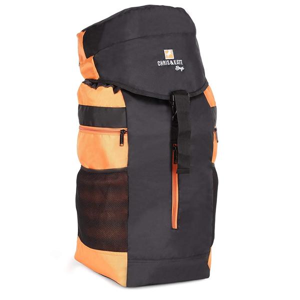 Chris & Kate ( CKB_351HO) Travel Rucksack Backpack--Camping Daypack Bag-Trekking Backpacks ( Black)