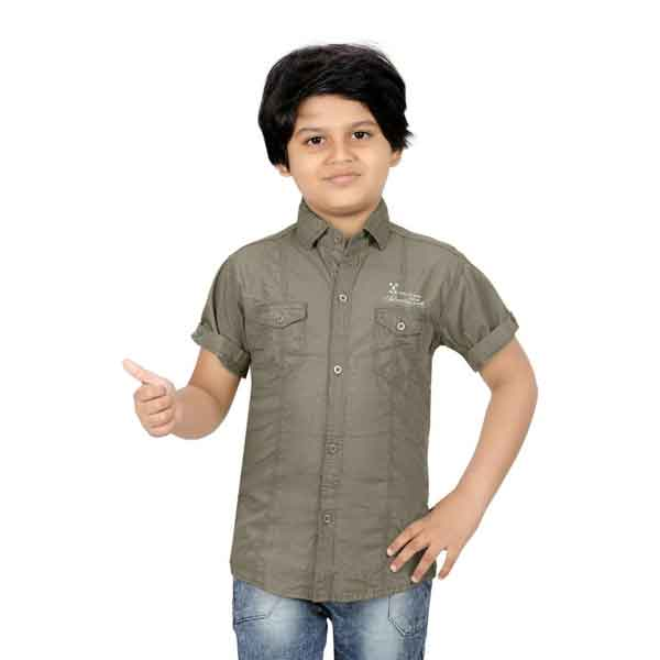 Crunchy Men's Half Sleeves Pattern Shirts