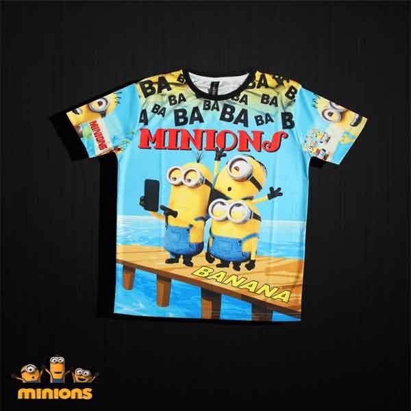 Crunchy Kids Digital Prints T-Shirts (Multicolour)