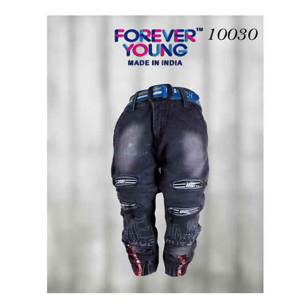 Crunchy Kids Cargo Packet Laced Jeans (10030)
