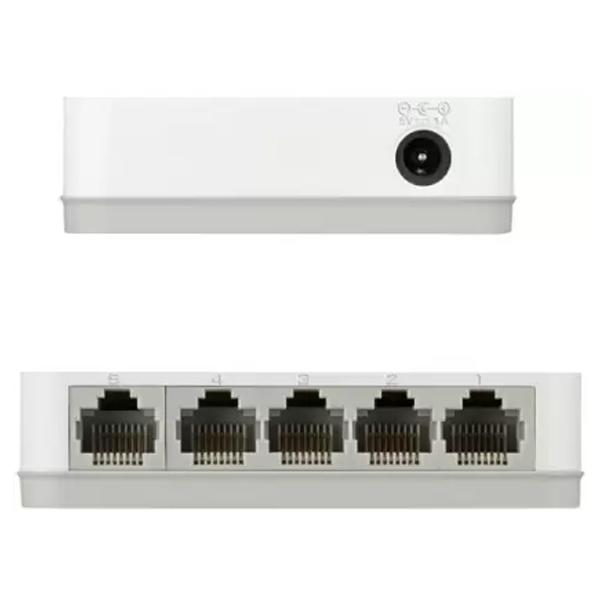 D-Link (DGS-1005A) 5 Port Gigabit Network Switch
