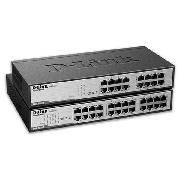 D-Link (DES-1016D) 16-Port 10/100 Umanaged Switch
