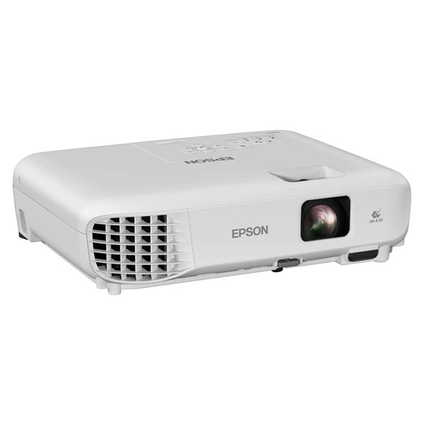 Epson EB-E01 3LCD, 3300 Lumens, Easy Alignment, Portable XGA Projector