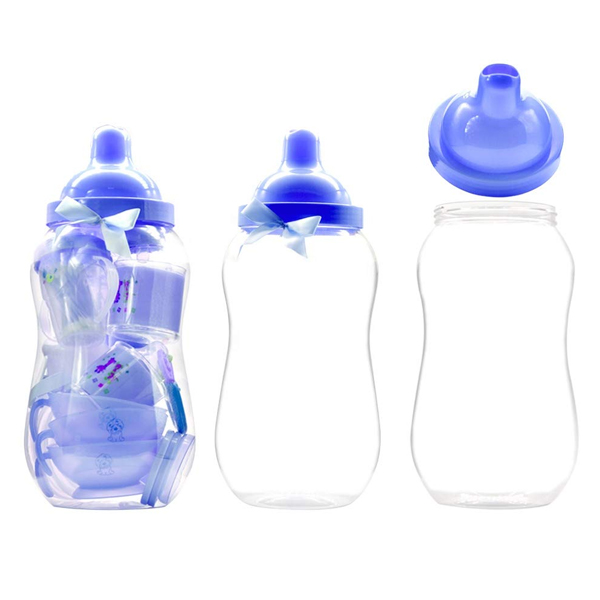 Generic TICARET New-Born Baby Feeding Set, Lightweight and Durable Welcome Baby Feeding Supplies, Made from Polypropylene Material (Multicolor)
