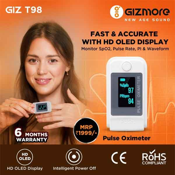 Gizmore Pulse Oximeter (GIZ T98)