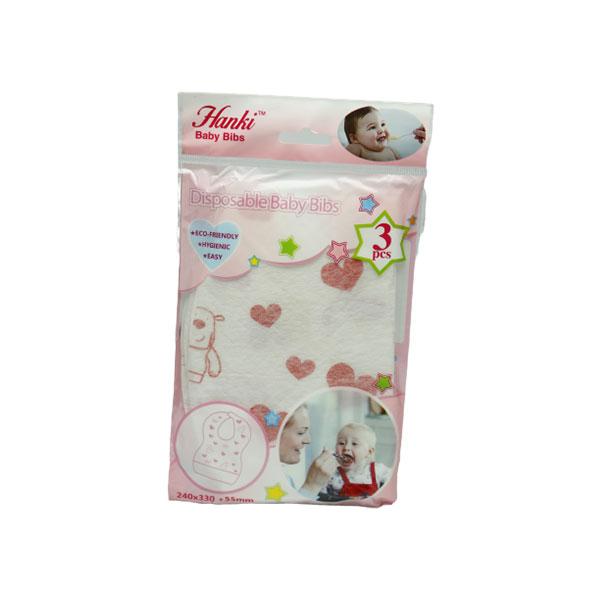 Hanki Disposable Baby Bibs