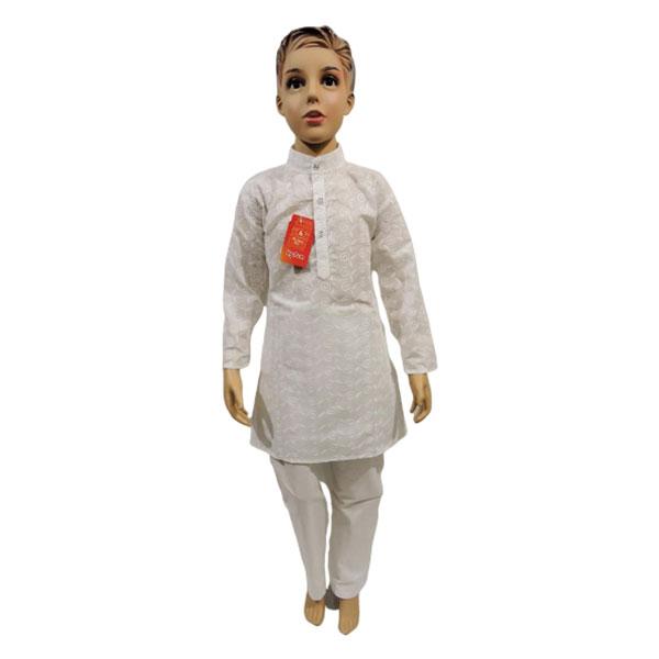 hyton Cotton chiken kurta pajama (Size-12, 14, 16)