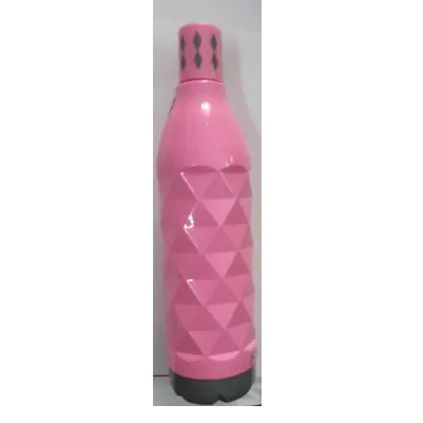 Ivy Diamond Designed Pink Bottle 500 ml Bottle (Pack of 1, Pink, Plastic)