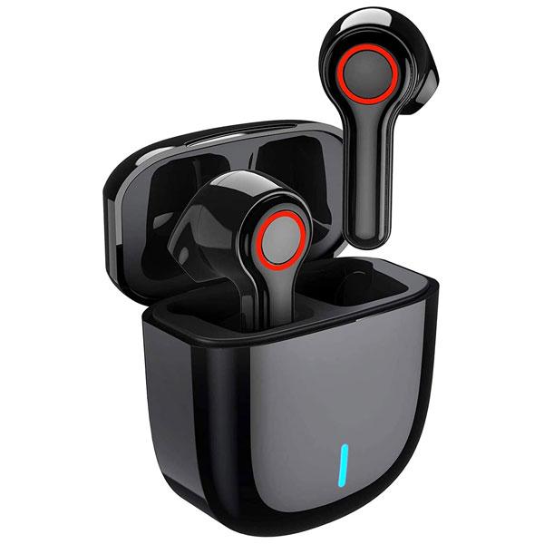 Jellico (TWS-6) Wireless Earbuds(Black)
