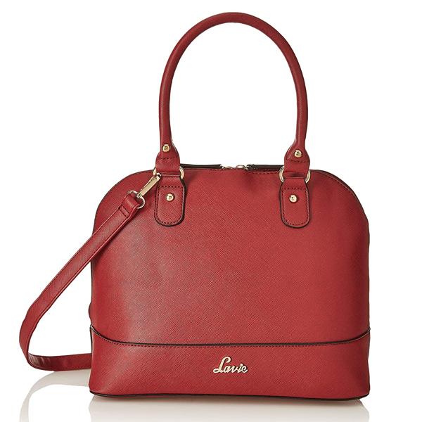 Lavie (HDFD765018M3) Bardsey Dome Women's Satchel Bag (Maroon)