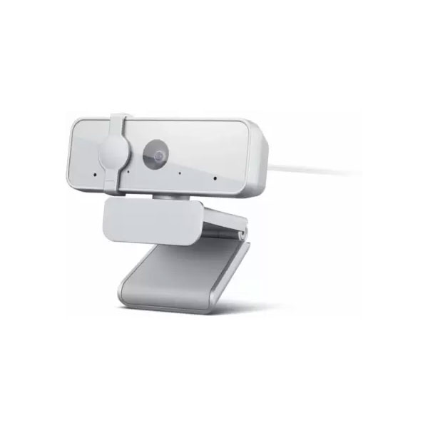 Lenovo 300 FHD Webcam with Full Stereo Dual Built-in mics, FHD 1080P 2.1 Megapixel CMOS Camera ,Ultra-Wide 95 Degree Lens, 4X Digital Zoom , 360 Degree Rotation , Flexible Mount Webcam