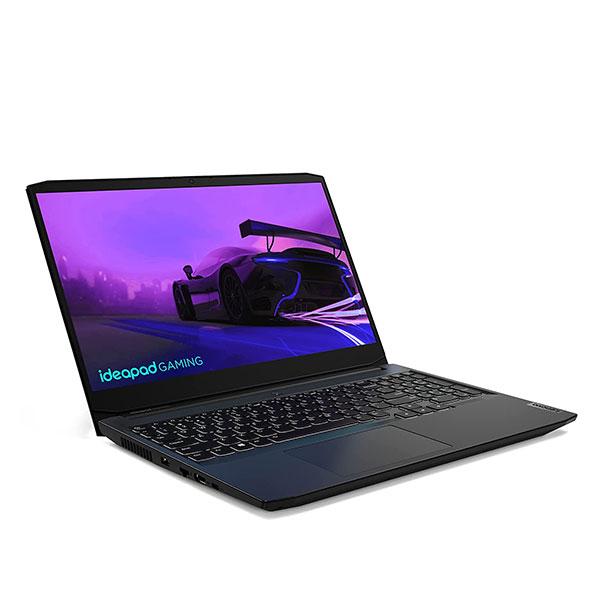 """Lenovo IdeaPad Gaming 3 (82K1004EIN) Laptop (Intel Core i7-11370H/ 8GB RAM/ 512GB SSD/ Windows 10/ NVIDIA RTX 3050 4GB GDDR6/ 15.6"""" FHD IPS/ 1 Year Warranty), Shadow Black"""