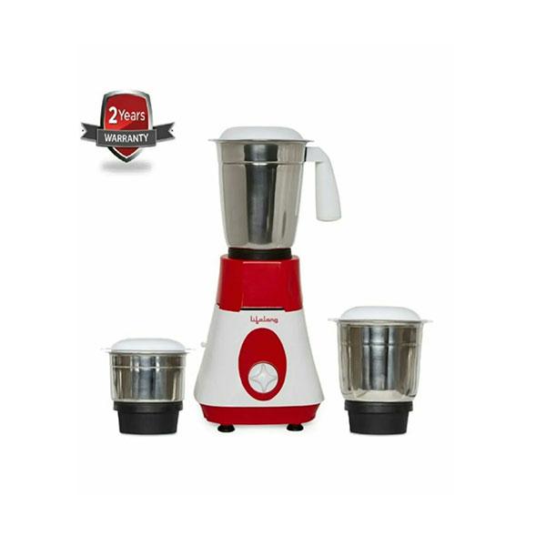 Lifelong Mixer Grinder LLMG90 super boost 500-watt 1 year warranty (weight 2.73kg, 3 jars)