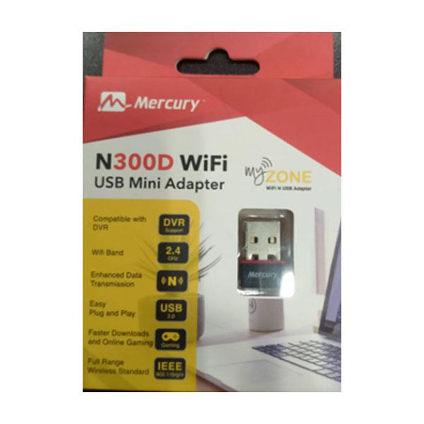Mercury N300D WiFi USB Mini Adapter