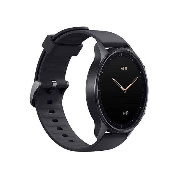 Mi Watch Revolve With Premium Metallic Frame, 1.39 AMOLED Display, 14 Days Battery, Heart Rate, Stress and Sleep Monitoring, in-Built GPS