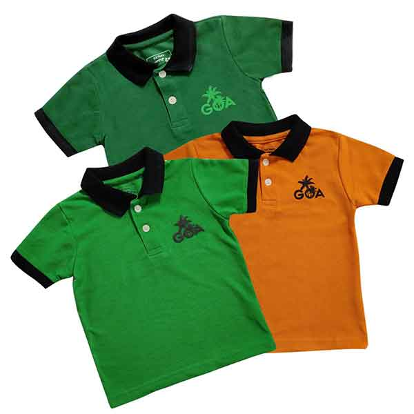 Offbeat Casual Cotton Three T-Shirt Combo Pack (Size-2-3 Years)