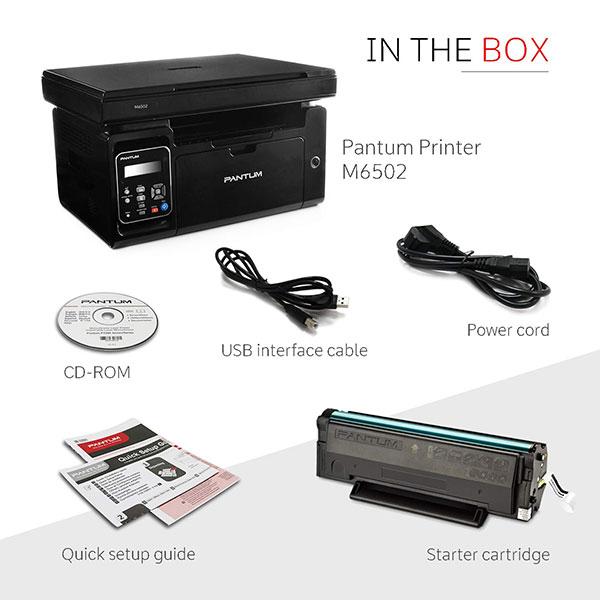 Pantum (M6502) Laser Multi-function Monochrome Printer