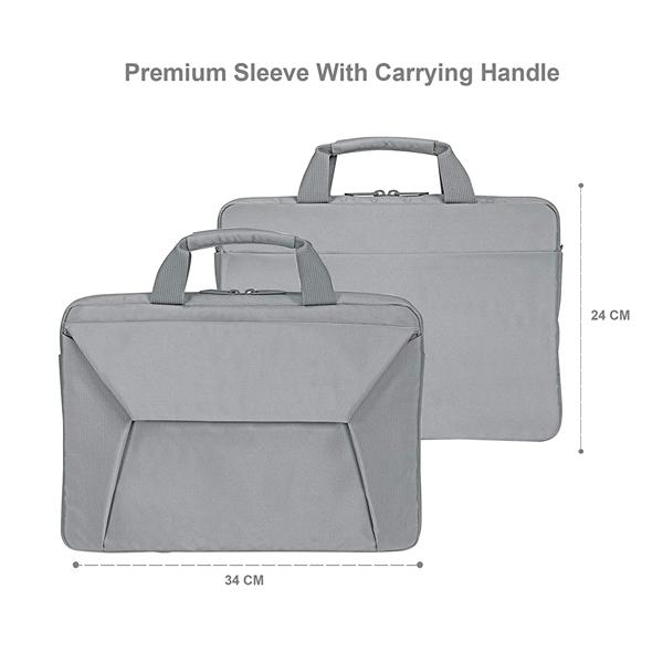 Probus Laptop Sleeve Bag for 13 Inch Laptop/MacBook/Chromebook (Grey)