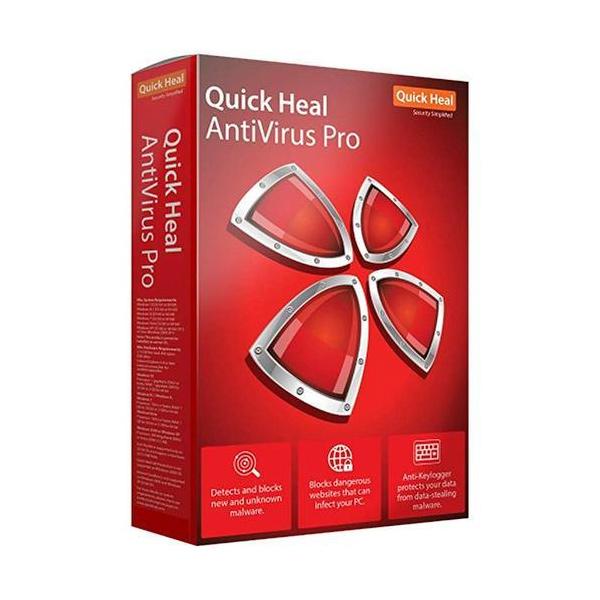 Quick Heal (LR3) Antivirus Pro 3 PC/ 1 Year