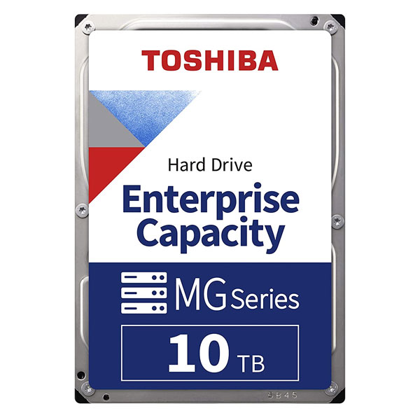 "Toshiba 10TB SATA 512e 7200RPM 3.5"" Enterprise HDD - MG06ACA10TE"