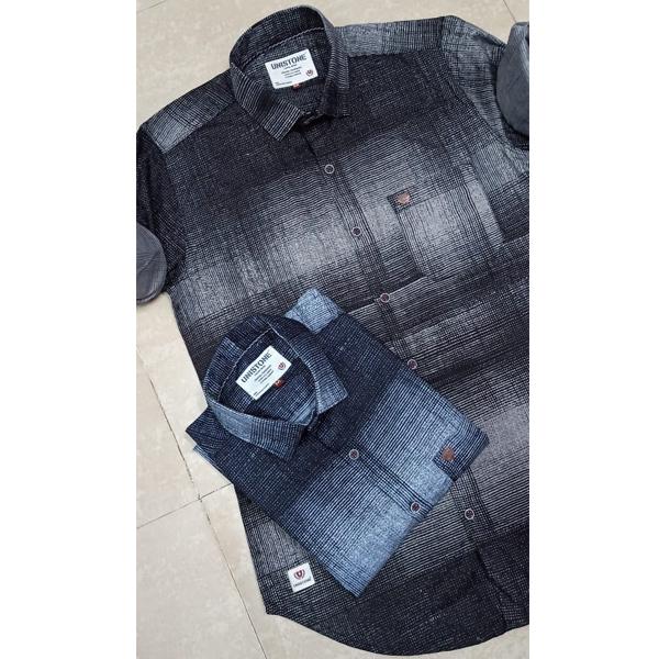 UNISTONE (702044) Men Casual Shirts,100 % Cotton, Full Sleeve