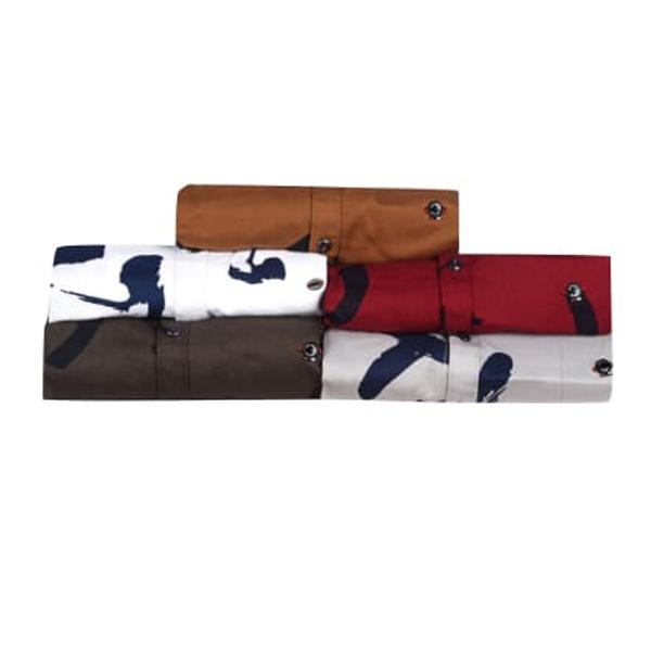 UNISTONE (663094) Men Casual Shirts,100 % Cotton, Full Sleeve