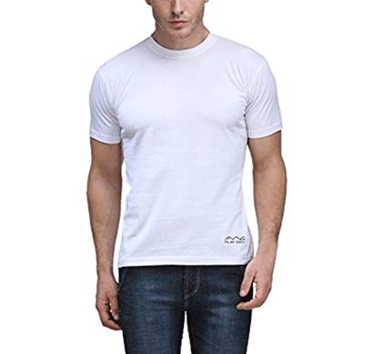 awg 100anb (150 gsm) drifit performance sports round neck t-shirt white