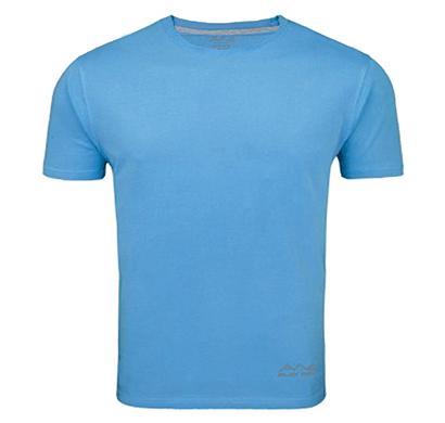 awg 100anb (150 gsm) drifit performance sports round neck t-shirt sky blue