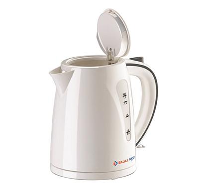 bajaj majesty new ktx7 1-litre cordless kettle (white)