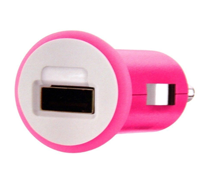 belkin- car charger iphone, pink