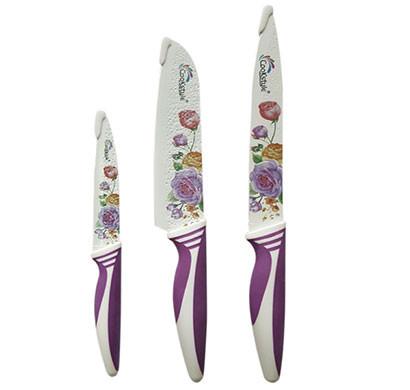 cynossus knife set - daily use sharp knives 3 pcs set