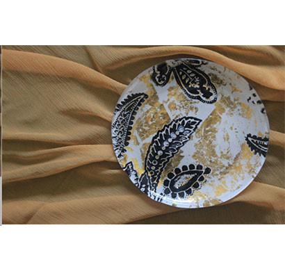 dantella small gold/black plates (set of 6)