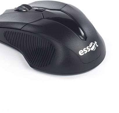 essot- 003, wireless optical mouse, usb black, 6 month warranty