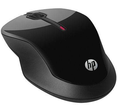 hp - x3500, wireless mouse with optical sensor, black, 1 year warranty