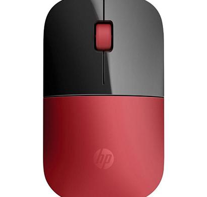 hp- z3700, wireless mouse, red, 1 year warranty