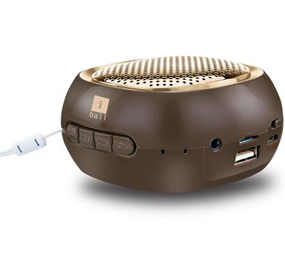 iball- musi cube bt20, bluetooth speaker, gold,1 year warranty