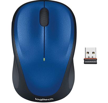 logitech- wireless mouse m235 , blue, 1 year warranty
