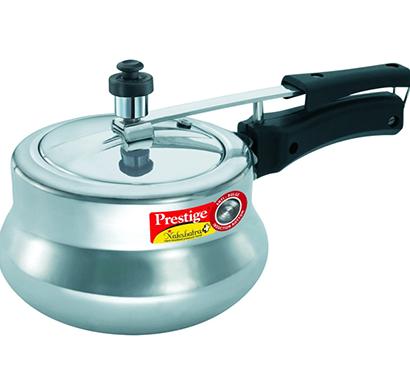 prestige - 11652, nakshatra plus aluminium pressure handi, 3 litres, 1 year warranty