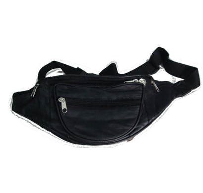 saw 010 leather money pouch black