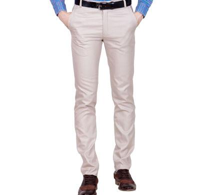 shaurya-f tr-27 regular fit men's beige trousers