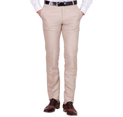 shaurya-f tr-24 regular fit men's beige trousers