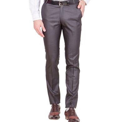shaurya-f tr-22 regular fit men's brown trousers