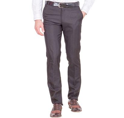 shaurya-f tr-20 regular fit men's black trousers