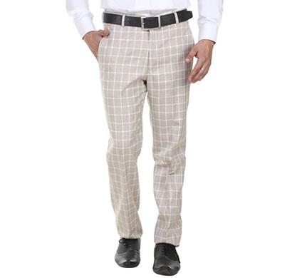 shaurya-f tr-15 regular fit men's beigh trousers
