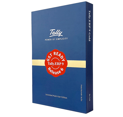tally erp 9 gold edition- gst ready (multi users)