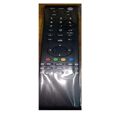 protouch (ur401) universal tv remote (black)