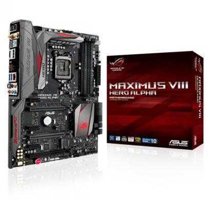 asus z170 - maximus viii hero alpha - 6th generation rog motherboard